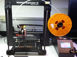 Filament feeder for Wanhao Duplicator i3, Cocoon Create, and Maker Select
