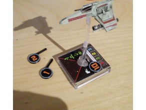 Pilot Skill Overlays X-Wing Miniatures Game