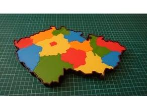 Czech Republic puzzle/jigsaw