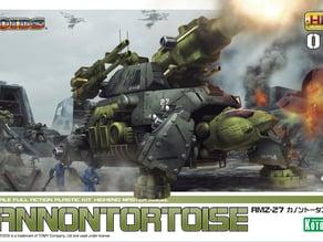 Zoids: HMM ZOIDS 1/72 RMZ-27 Cannon Tortoise