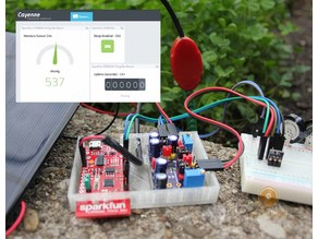 IoT Energy Harvester using Cayenne
