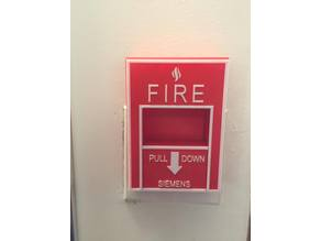 Fire Alarm Pull Light Switch Cover