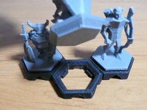 Low Poly Fantasy Tabletop - Hex Grid Slots