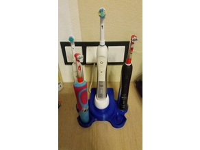 Oral B Familienstation 4er Boden / Oral B Family Station 4 Brush Bottom
