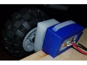 Pololu Gearmotor Bracket
