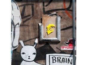 Bowie 3D graffiti