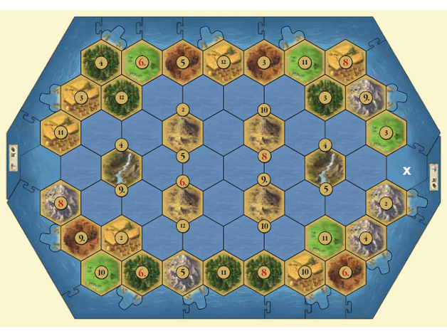 Seafarers 5-6 Player Extension Catan