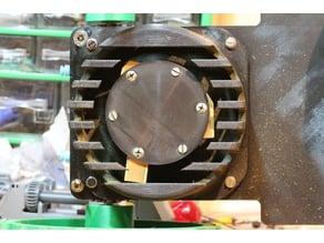 Robotic lawn mower cutting disc