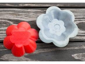 Small Drape Molds (Flower, Octagon, Hexagon)