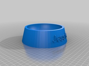 Jessie Dog  Food Bowl
