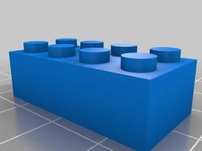 4x2 Lego Brick
