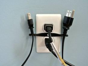 Extra cord Holder