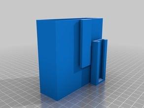 External Hard Drive Holder With Slide Mount - Western Digital (WD) Elements Portable