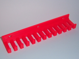 12 Slot Small Cable Holder with Extra Support