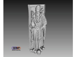 Golden Gate Of Freiberg Cathedral Statue 3D Scan