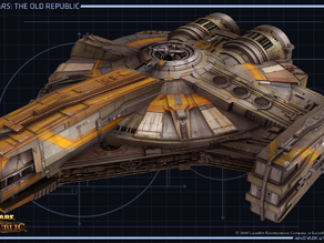 Star Wars The Old Republic Smuggler ship