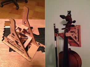 Violin and Bow hanger