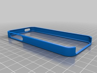 iPhone 5 Bumper for Customization and 3D Printing