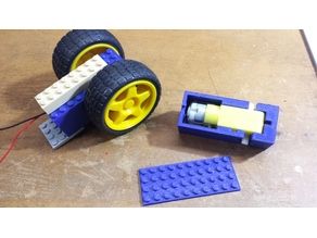 Lego compatable 2 Axis TT Motor housing