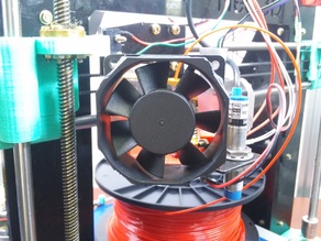 60mm Fan Mount For 31mm Direct Drive Extruder