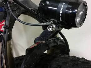 Supernova E3 Headlight fork mount.