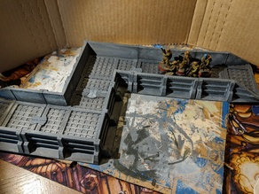 Star Wars Legion Terrain - Modular Trench System