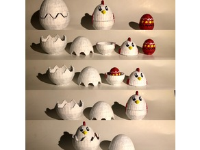 Matryoshka chicken/egg