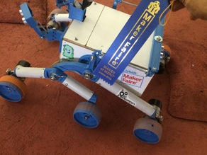 MakerFaire Lisboa 2015 - Mars Rover