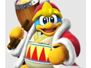 Dedede with embossed textures