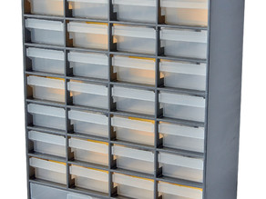 ALDI/Jaycar 33 Drawer Parts Cabinet Drawer Divider