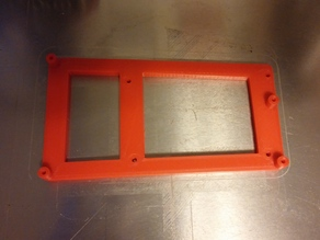 NCS Rumba mount for Prusa i3 steel