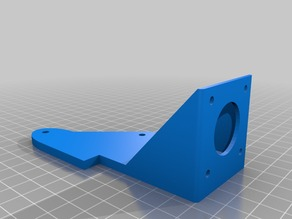 Titan extruder right side holder for Anet A8