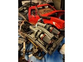 wpl engine bay servo cover