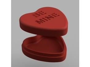 Candy Heart Valentine Box