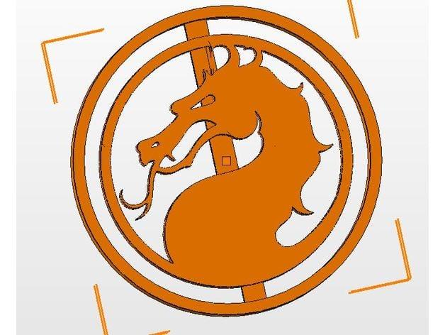 Mortal Kombat Logo Cookie Cutter By Gr44 Thingiverse