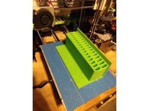 2 Size Oval Slot Storage Tray