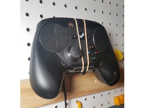 Steam Controller: Pegboard Mounted Stand