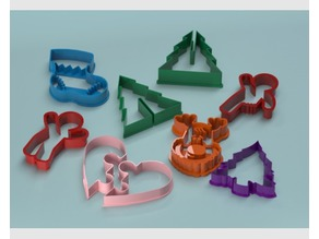 Christmas cookie cutter collection