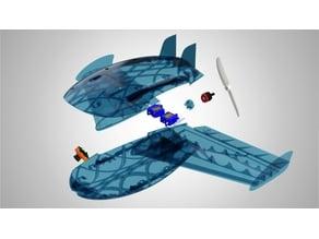 Kestrel Flying WIng Prototype Sample