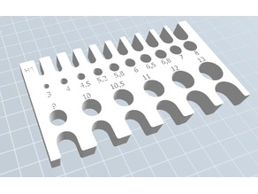 Drill  Measurement [3-13mm]