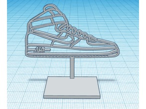 Nike Air Force 1 Logo Stand