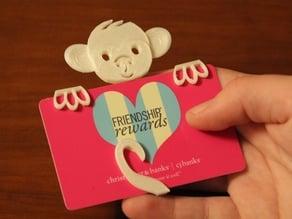 Monkey Gift Card Holder