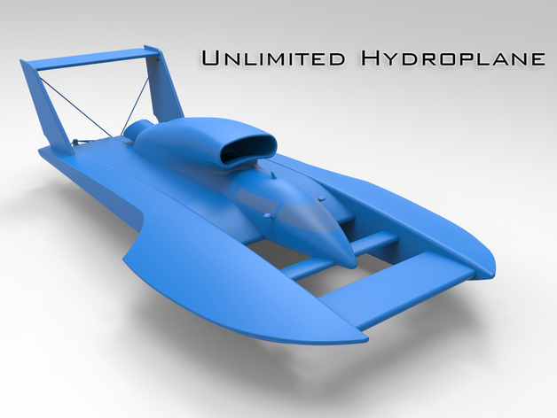 unlimited hydroplane by thinkin3d