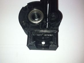 Makergear M2 filament guide with bearing