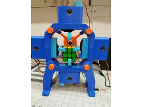 Remix - Fully 3D-Printed Rubik's Cube Solving Robot
