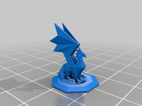 Dragon Statue With Base - Spyro