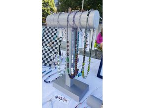 Necklace Jewelry Display T-Bar (Tall)