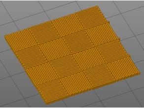 Ornamental infill 4 - carbon fiber