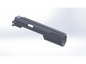 Airsoft Elite Force 1911 Tac Carbine Conversion Kit (wip) (update)