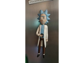 Rick Sanchez (from Rick and Morty) FRIDGE MAGNET